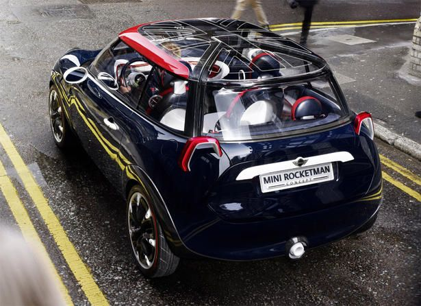 Mini Cooper Rocketman Concept Car Thats Exciting Minicooper Minifanatic