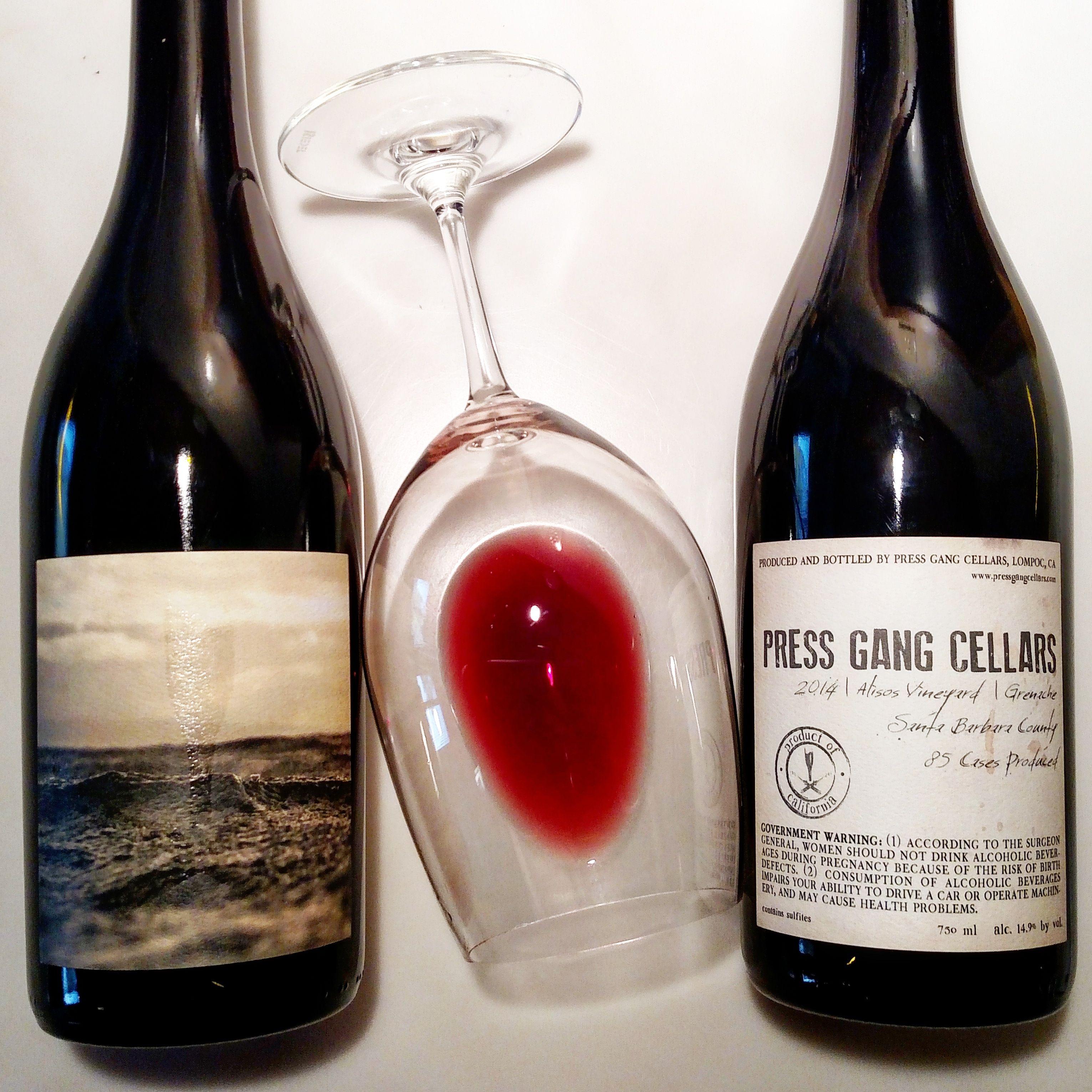 Gangnam Grenache Santa Barbara Wineries Alcohol Grenache