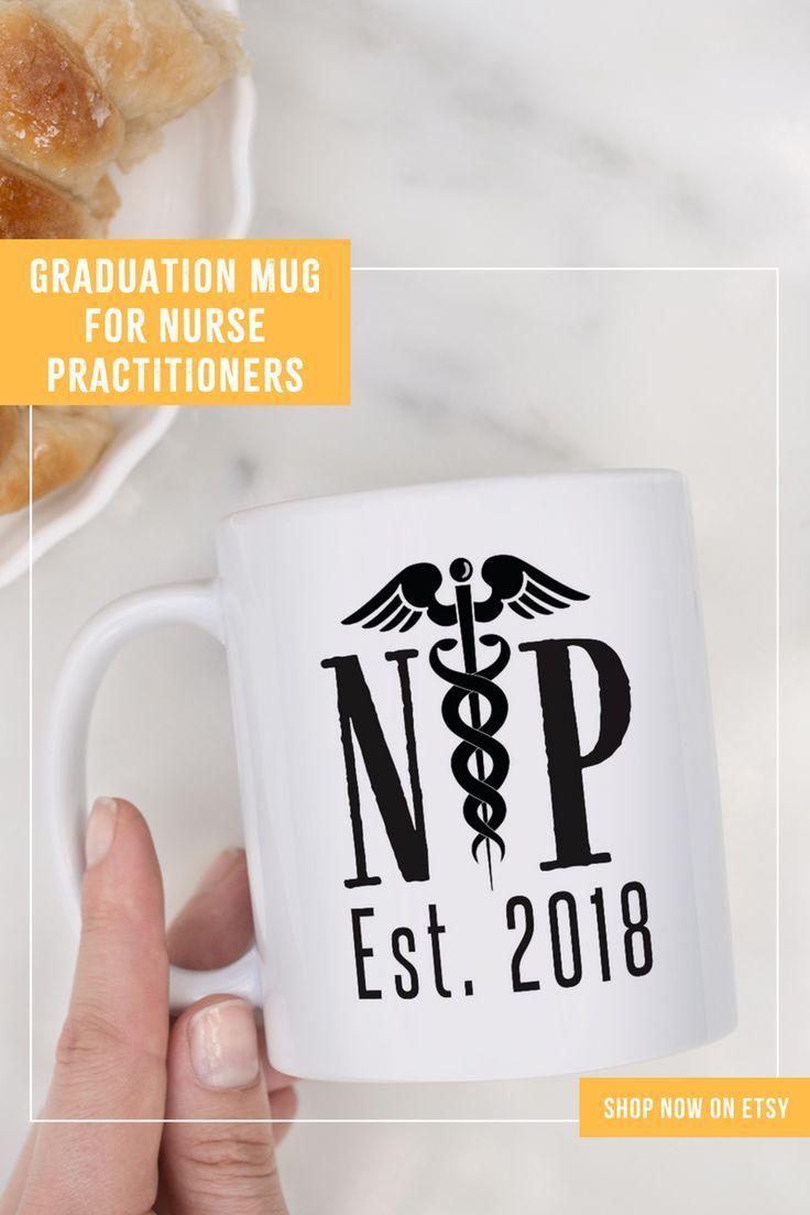 Nurse practitioner graduation mug, NP Graduation