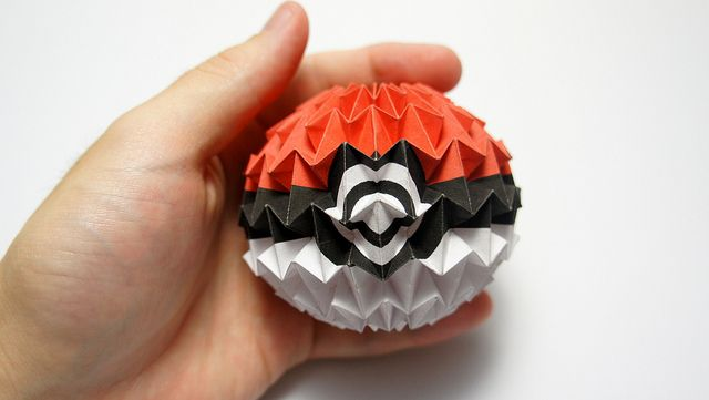 How to Origami a magic ball | Origami ball, Origami kunst, Origami | 361x640