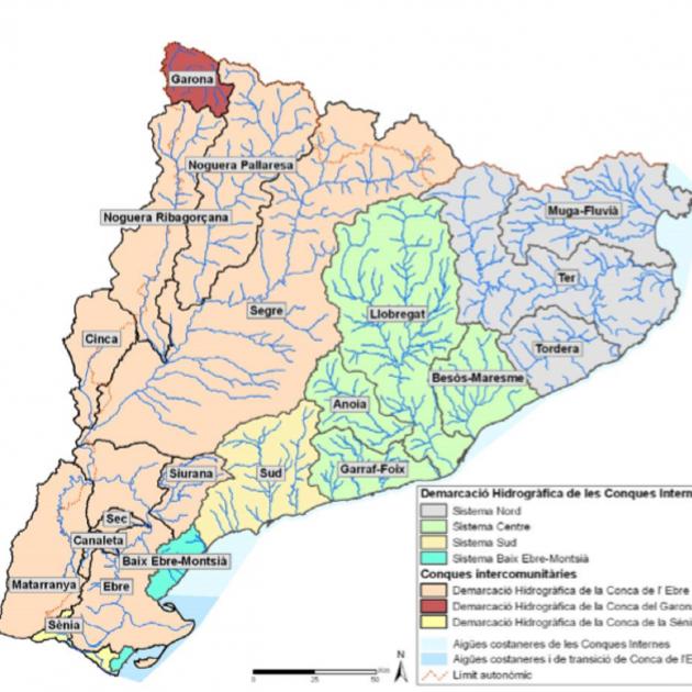 Mapa Rius De Catalunya Mapa Rius De Catalunya Rius Mapas