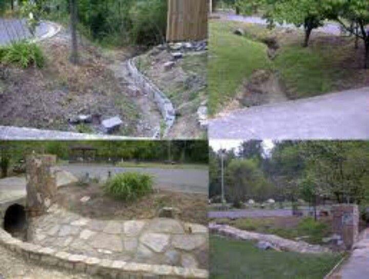 Drainage Ditch Garden Ideas Drainage Ditch Driveway