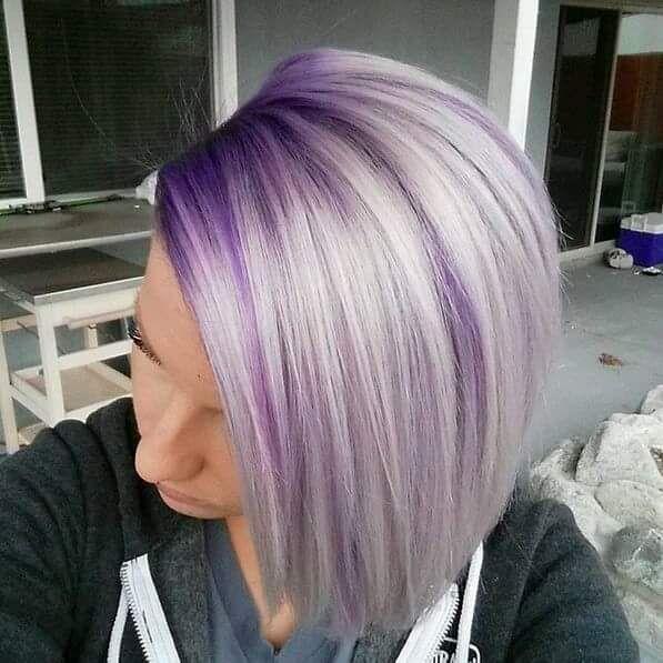 pingl par salon hair sur salone en 2019 color melting hair hair styles et lavender hair. Black Bedroom Furniture Sets. Home Design Ideas