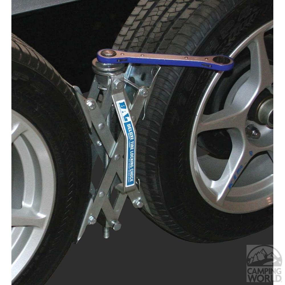 XChock Tire Locking Chocks, 2Pack Rv accessories, Rv