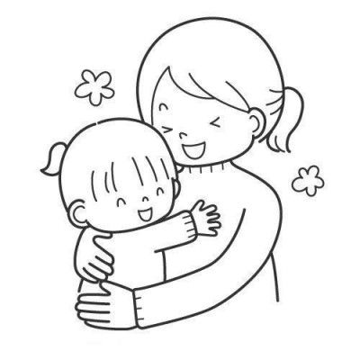 Dibujos Del Dia De La Madre Para Colorear En El Ordenador Mom Drawing Valentine Art Projects Coloring Pages