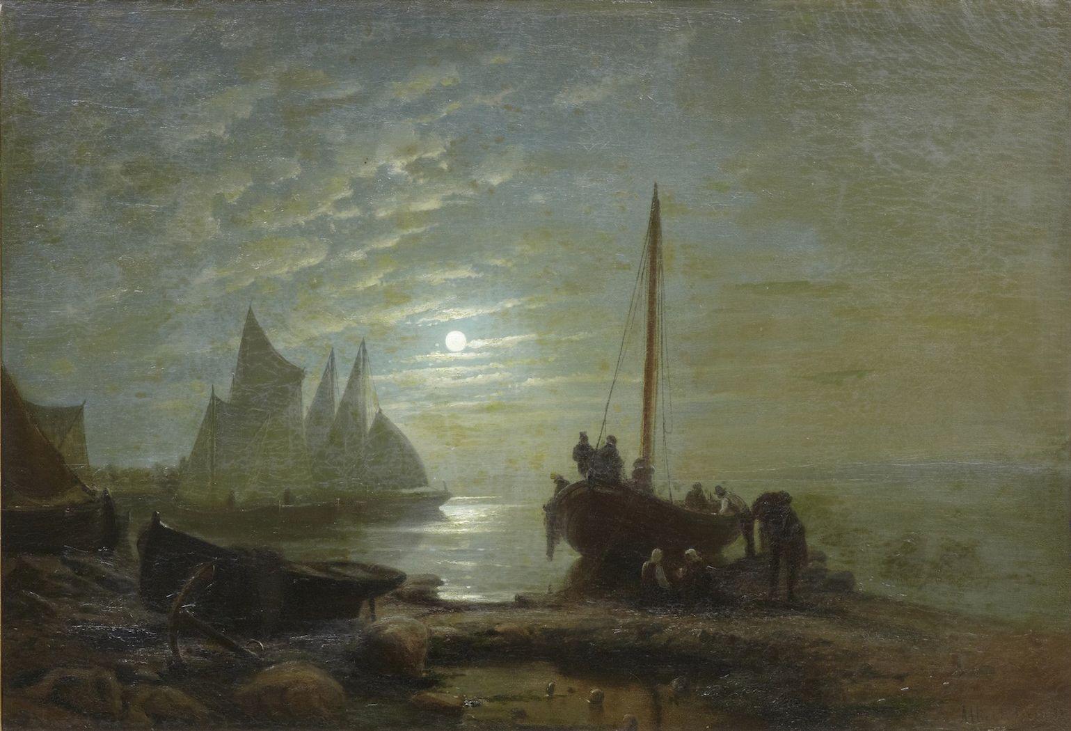 Albert Berg - Moonlight Harbour