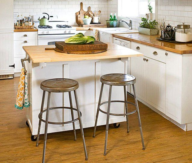 Cheap Kitchen Island: Cheap Small Kitchen Island On Wheels With Seating