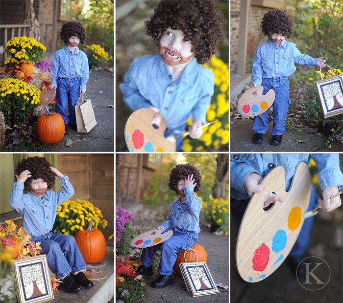 Bob Ross Costume ~ \