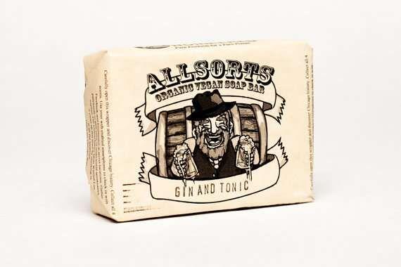 Smell Like Hard Alcohol with the Allsorts Liquor Soap Bars #soap
