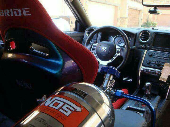 GTR with NOS