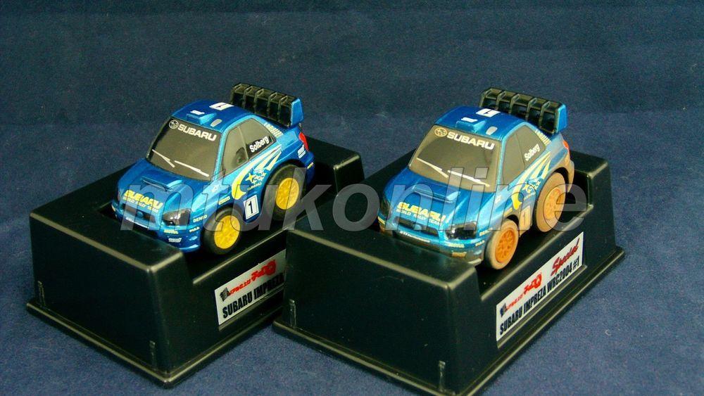 Choro Q Rally Collection 2004 Subaru Impreza Wrc Sti Start Finish Set
