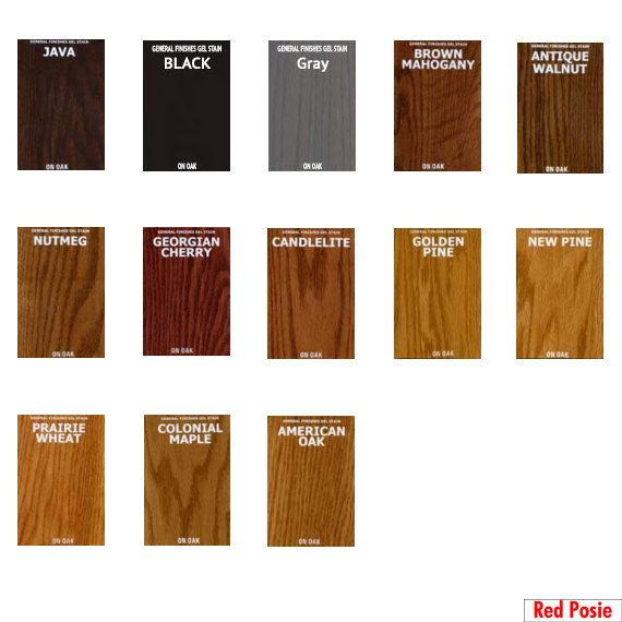 General finishes gel stain pint or furniture oil topcoat java