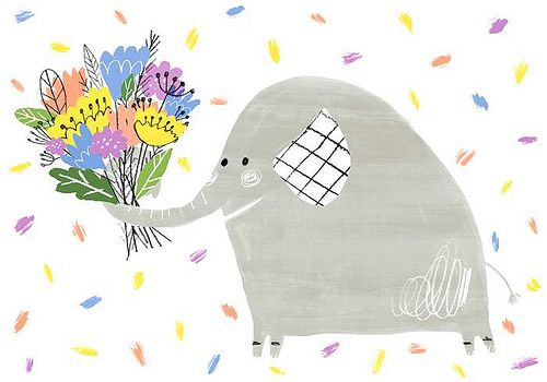 Flowers for you from Elephant