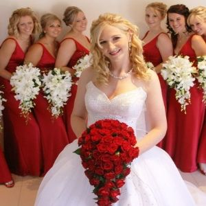 White Wedding Reasons To Choose A Red Theme Unique Ideas