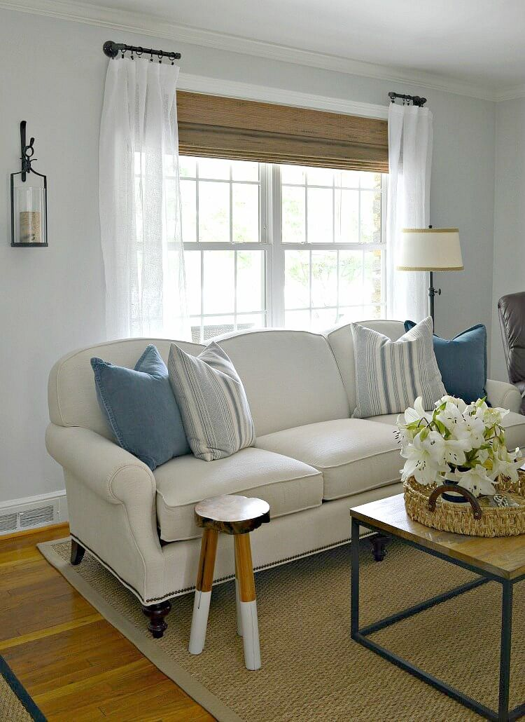 Easy Diy Curtain Rods Window Treatments Living Room Living Room