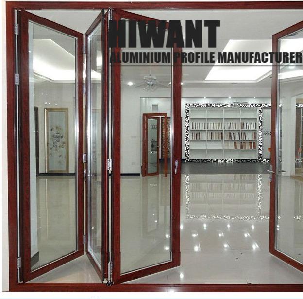 Modern Design | Custom | Wood Like Finish | Aluminium Frame For Casement Or  Sliding