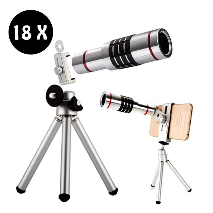 18X Zoom Phone Telescope Telephoto Camera Lens for iPhone