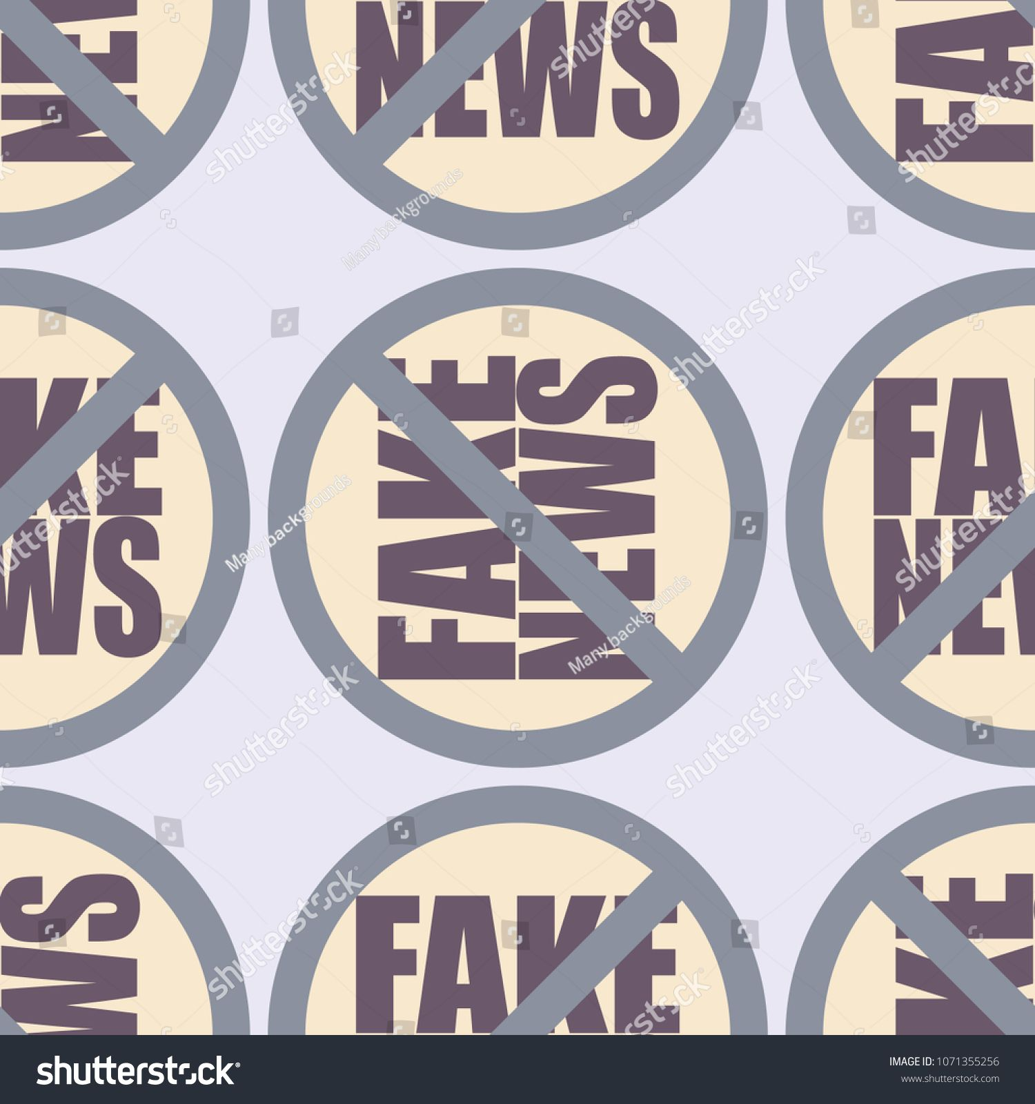 Conceptual Seamless Pattern With Logo Fake News Global Problems Of Humanity Ad Sponsored Pattern Logo Stock Illustration Seamless Patterns Illustration