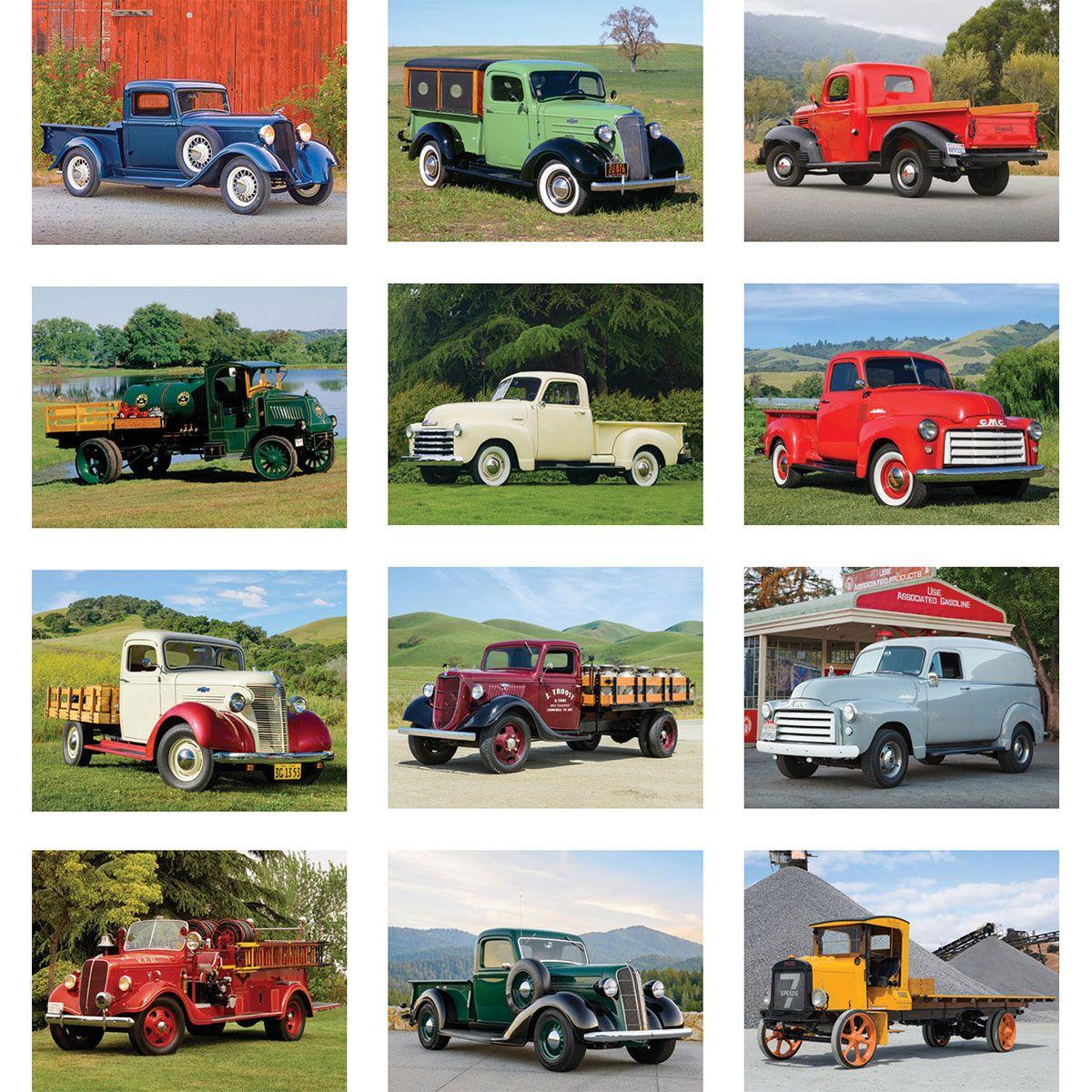 2018 Antique Truck Calendar, 2018 Imprinted Calendars, 2018 calendar ...