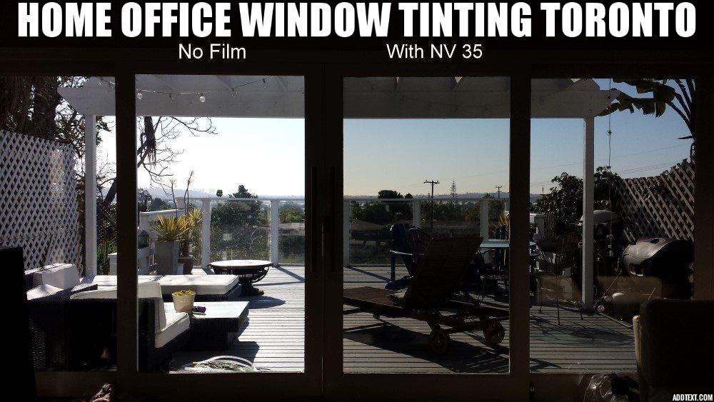Home office window tinting toronto tinted windows