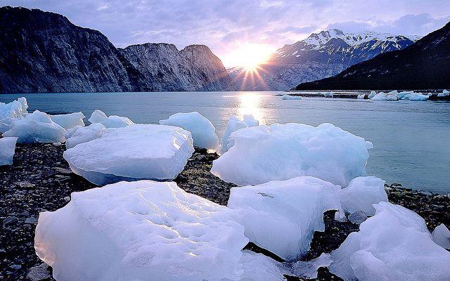 14986 Landscape Sunset Ice Lake Ice And Lake Winter Wallpaper Winter Landscape Nature Wallpaper