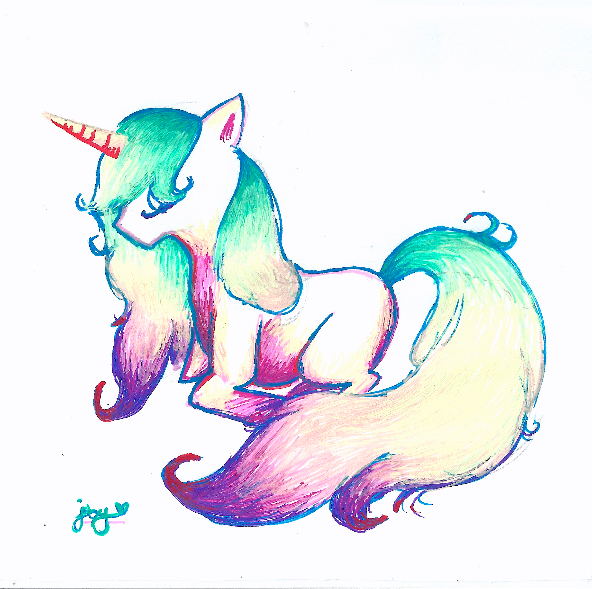 Unicorn Drawings Unicorns Unicorn drawing, Drawings