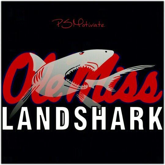 Ole Miss Landshark Logo Ole Miss Football Ole Miss Ole Miss
