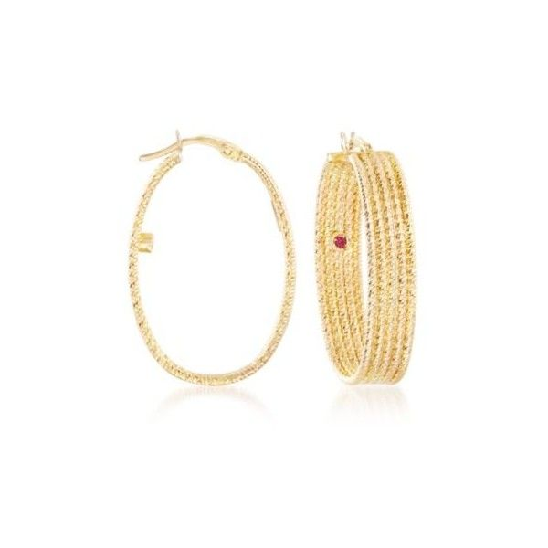 Roberto Coin Snap Hoop Earrings