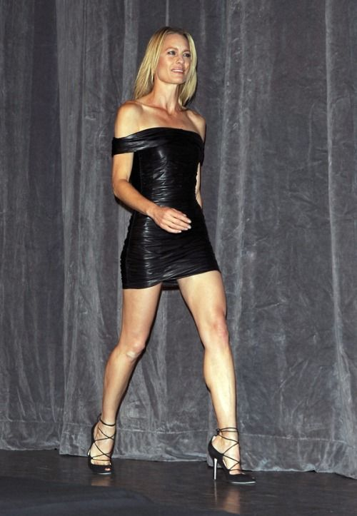 c3fddf86057bf sexyinleather  celeblegs  Robin Wright sexyinleather.tumblr.com ...