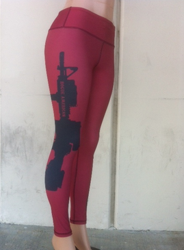 2a1155665ee65 Spandex Red AR Leggings (NEW) | Rogue American Apparel Women's ...