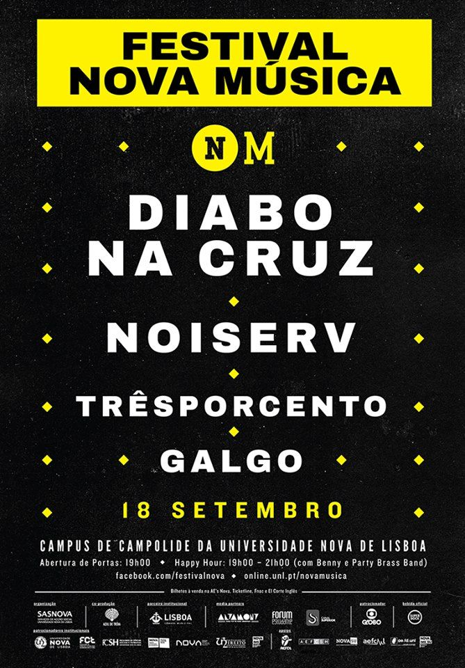 The Music Spot: Vencedores do Passatempo Festival Nova Música