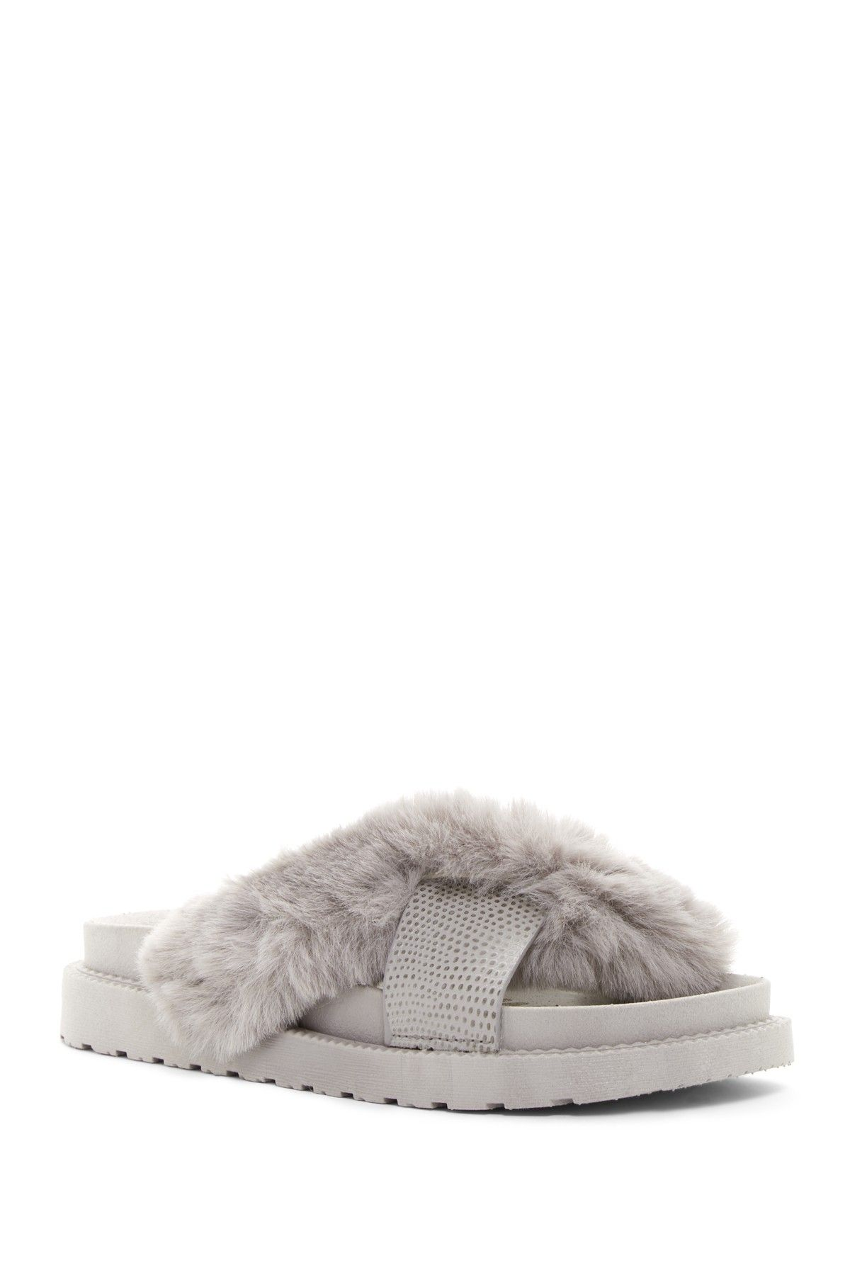 Bianca Faux Fur Slide Sandal cheap sale outlet locations pay with paypal for sale release dates for sale clearance clearance VuzkTIh3q0