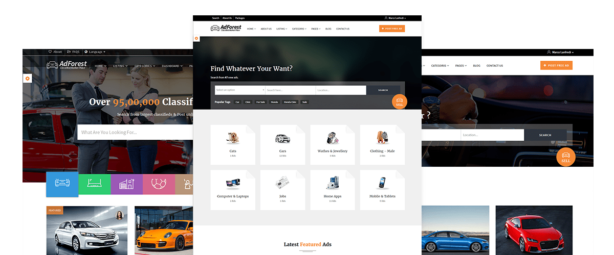 Largest #Classified #Ads #wordpress #theme adforest. start to build ...