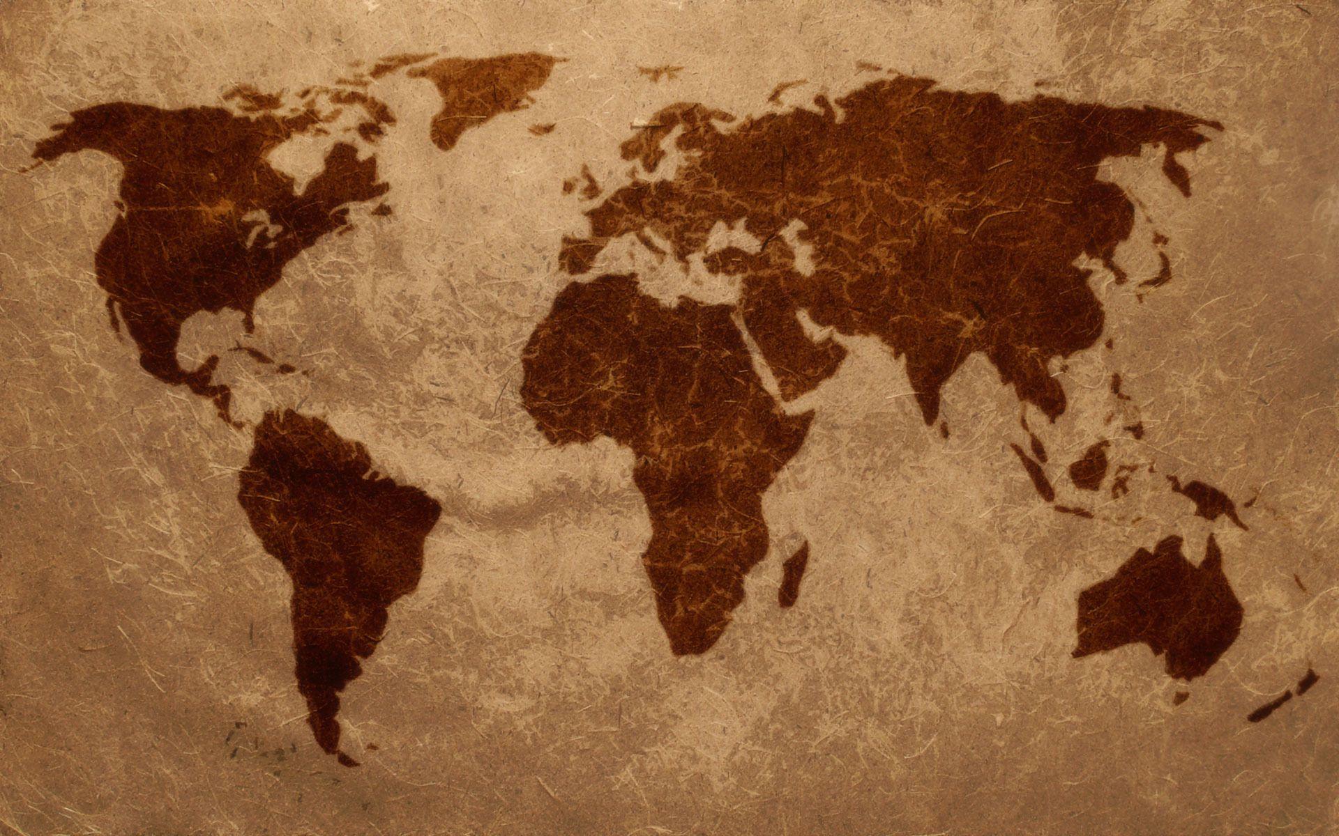 World map wallpaper 5790 home decor pinterest wallpaper world map wallpaper 5790 gumiabroncs Image collections