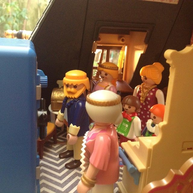 Ohhhhhhhhhhh !!!! Pronto ! Habemus cofre !!!! #aduchesa #bonecorama #playmobil