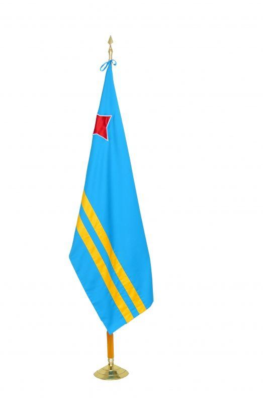 aruba bandera en tela dubln se recomienda para exterior ya que tiene mejor