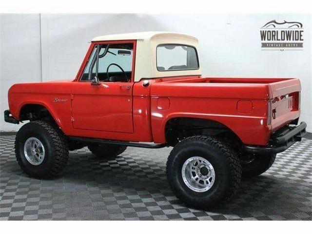 Bronco pickup truck