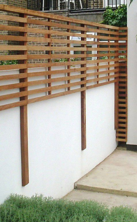 Image Result For Extending Height Above Brick Garden Wall