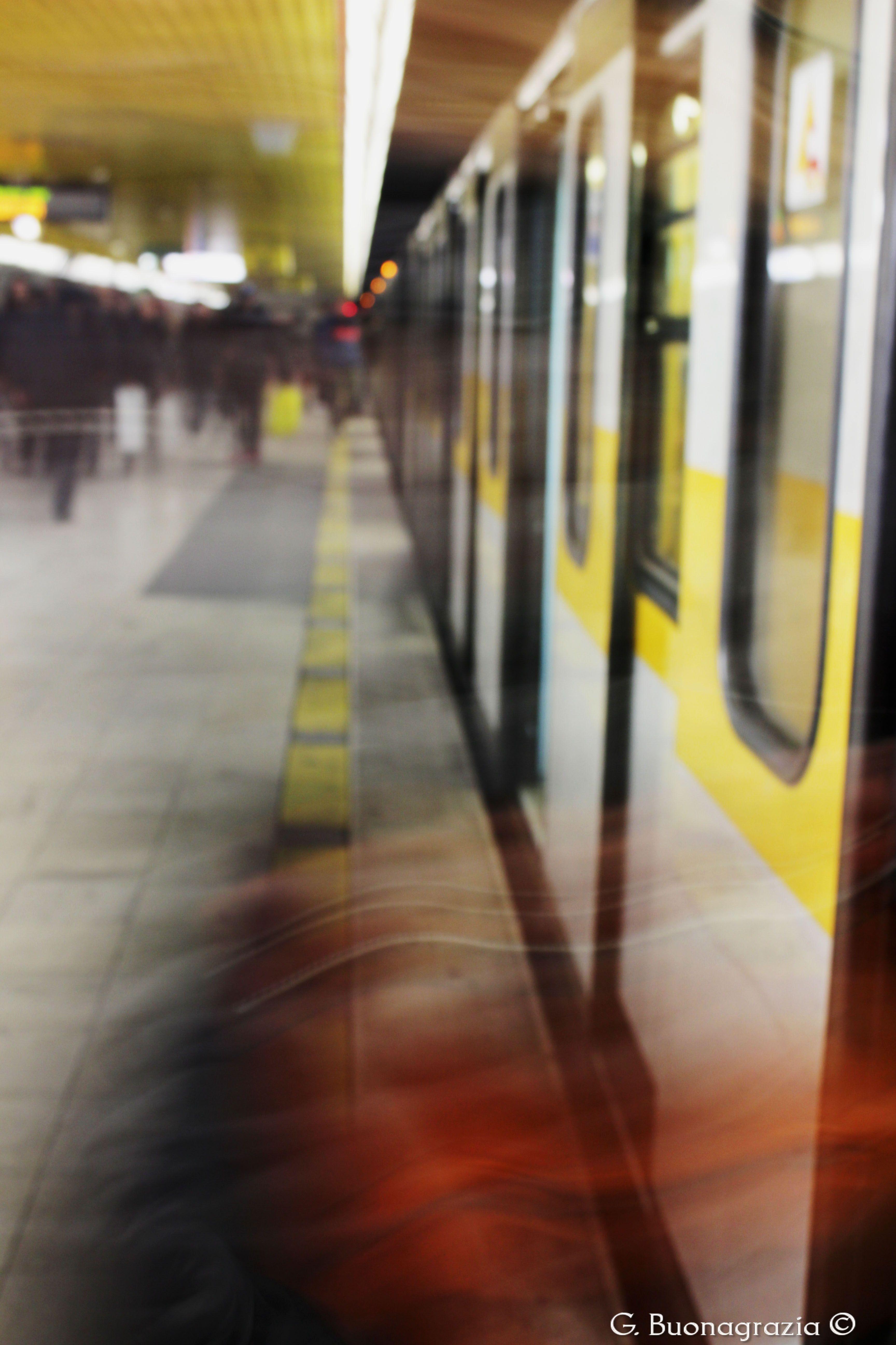 Metro Travel Milan Italy Urban Life Photo Milan