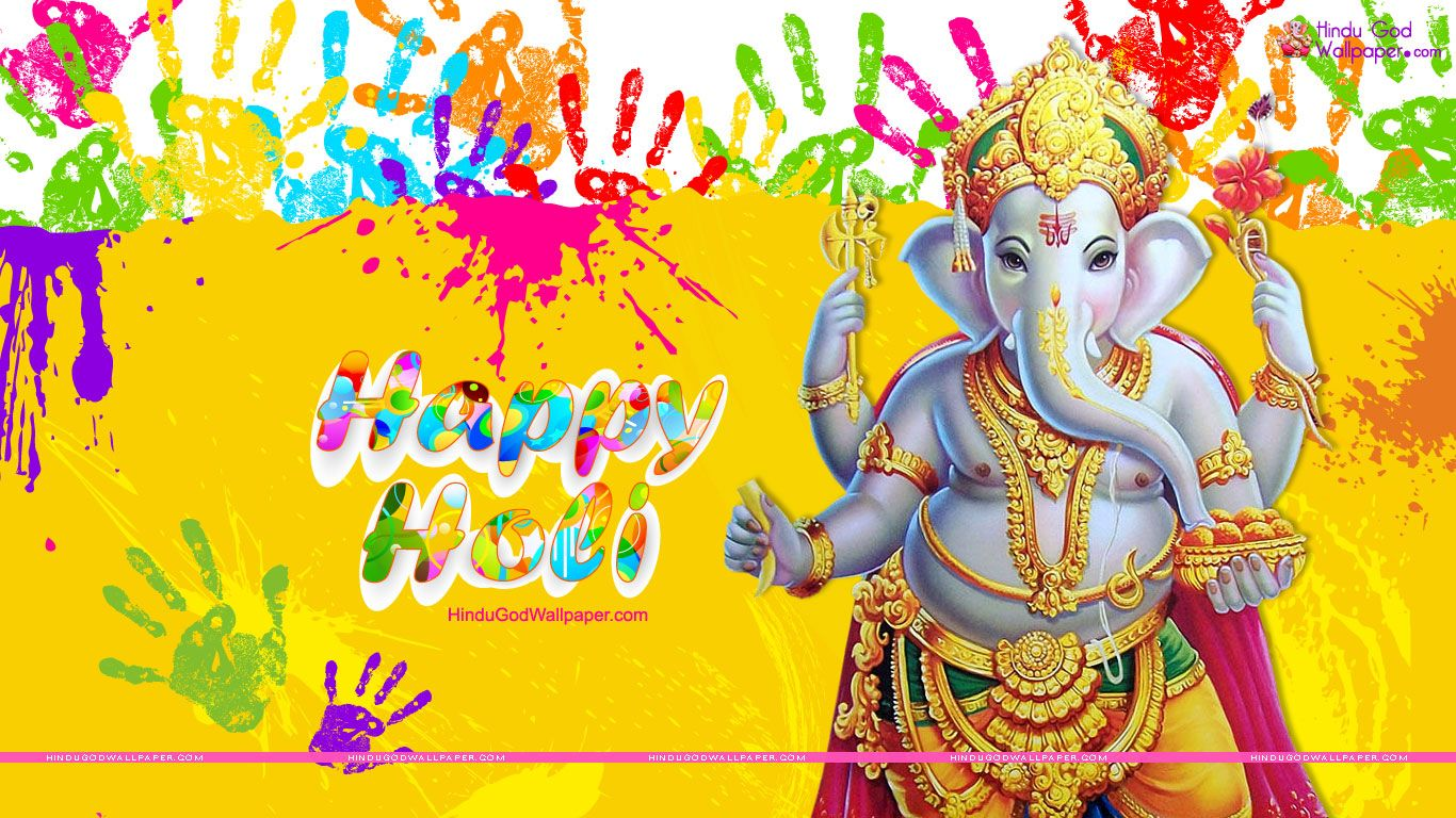 Ganesh Holi Wallpapers Photos Images Free Download