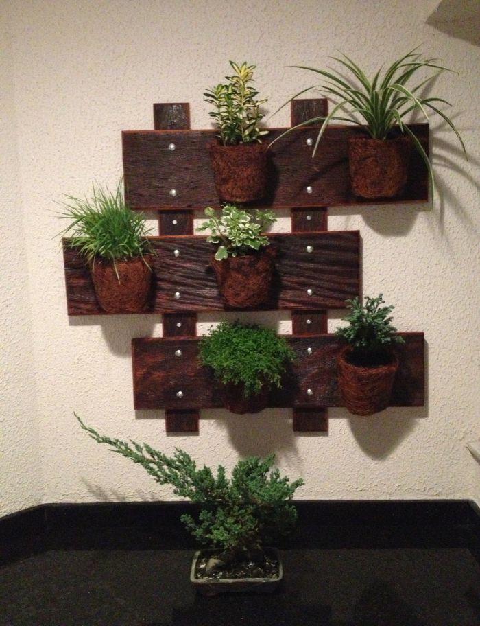 30 PALLET Wall Garden IDEAS For Decorative Plant