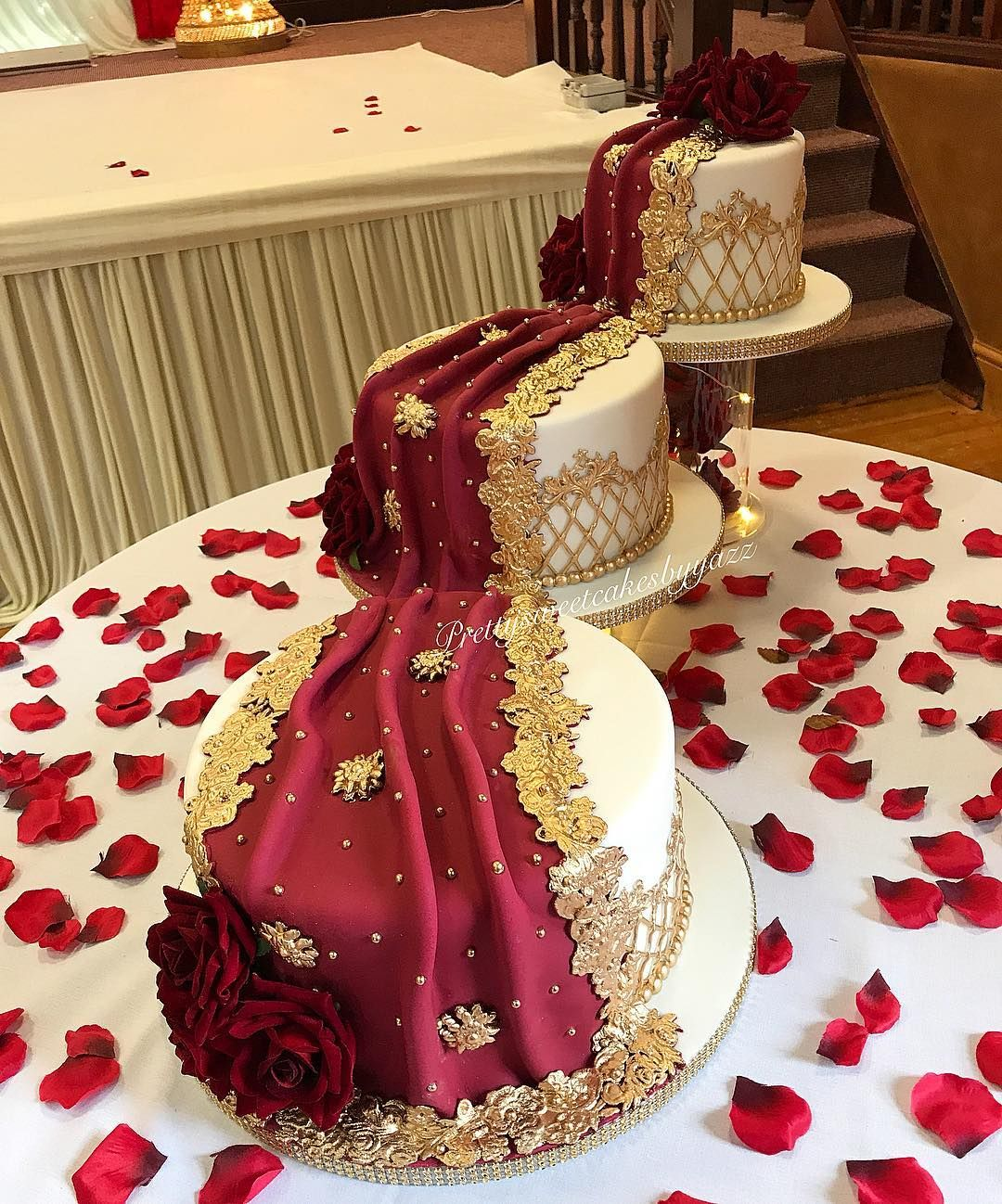 Wedding Cakes Inspired By China Patterns: Cakes By Yazz Prettysweetcakes (@prettysweetcakesbyyazz