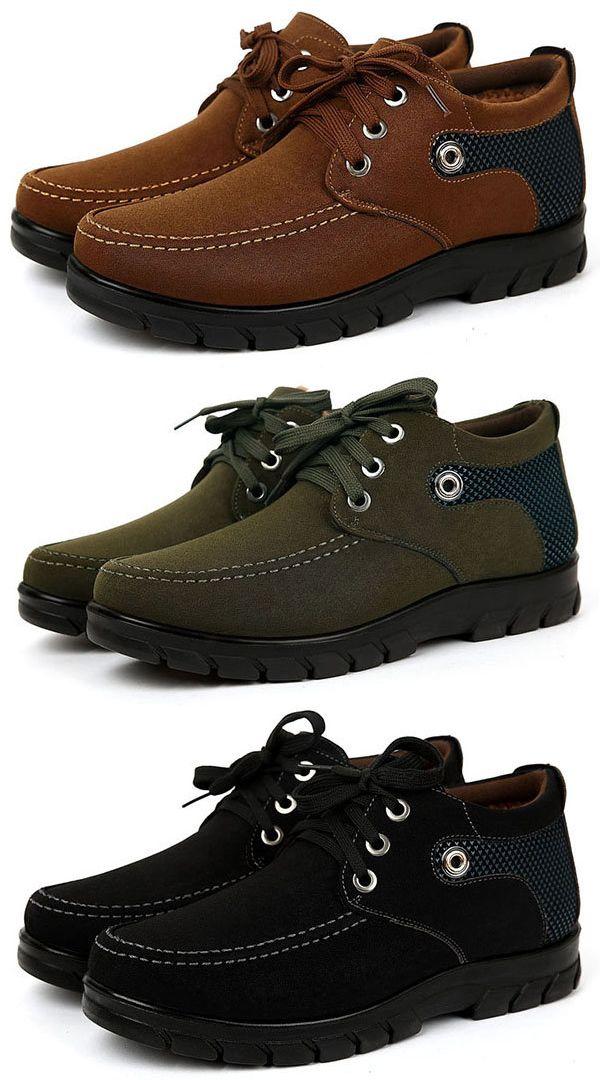 Hommes Vieux Hiver Style Beijing Chaussures En Tissu Occasionnels xuMnRx
