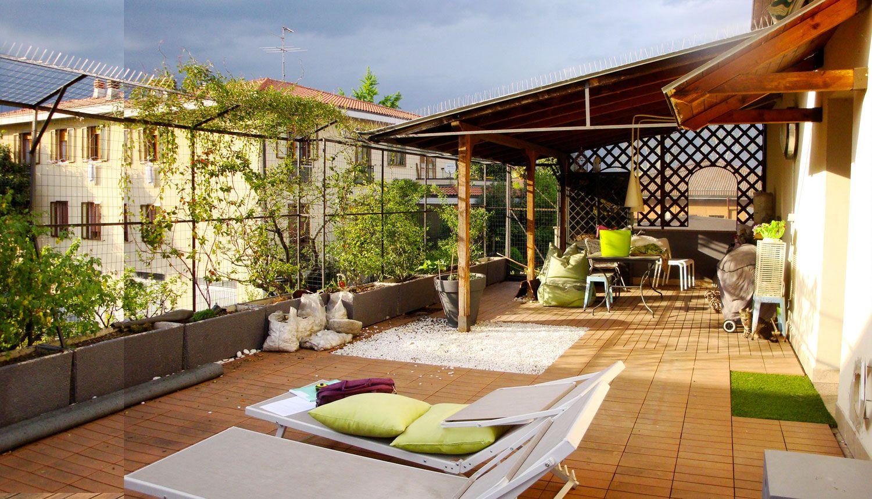 Verde Progetto Il Terrazzo Per I Gatti Terrazzo Arredamento Giardino Progettazione