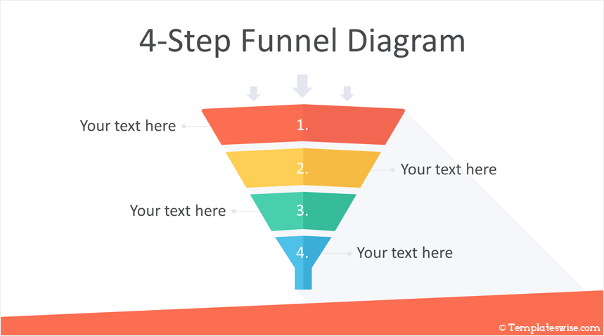 Funnel Diagrams For Powerpoint Powerpoint Diagram Funnel