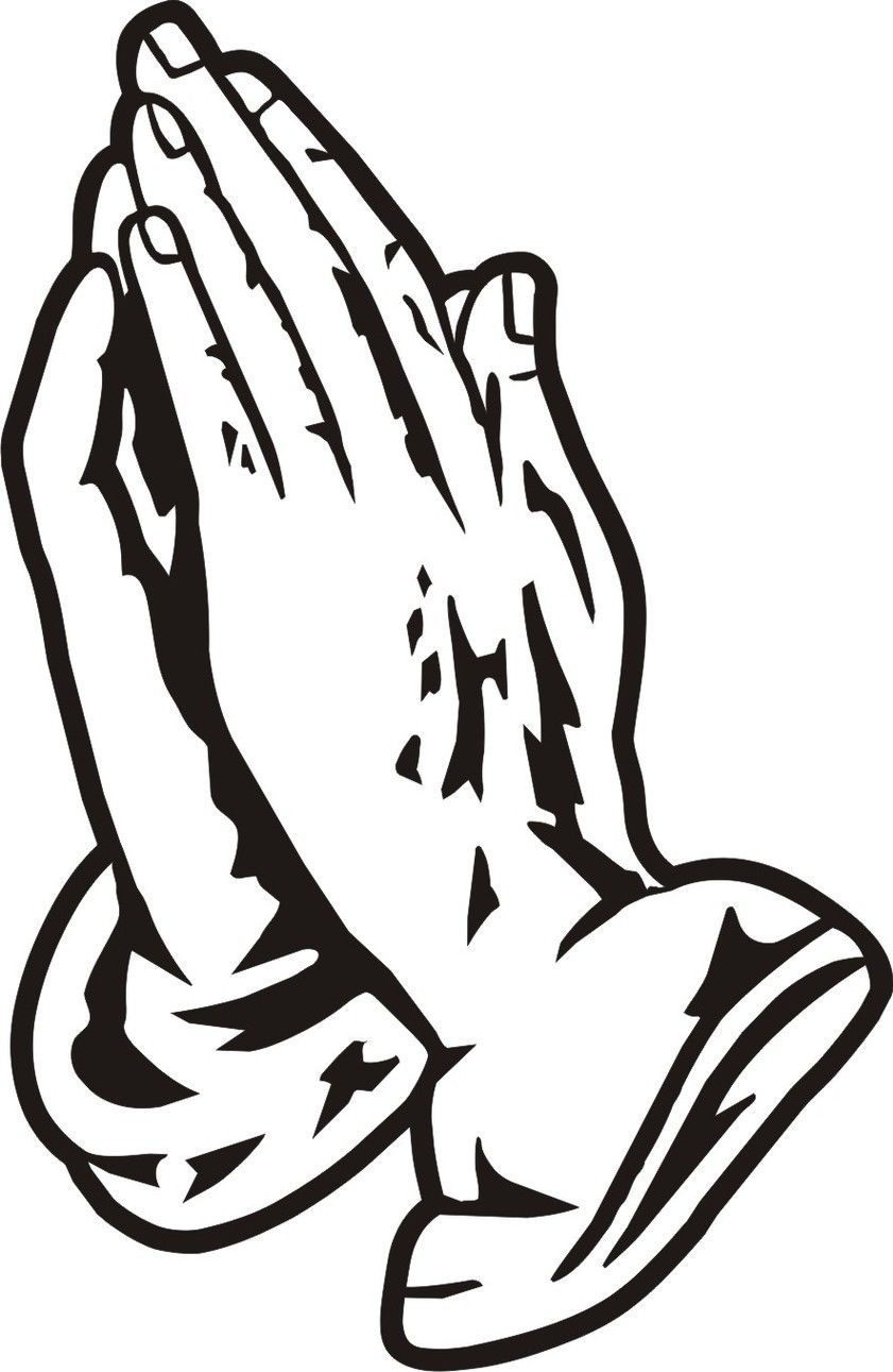 Praying Hands Coloring Pages Praying Hands Clipart Praying Hands Hand Clipart
