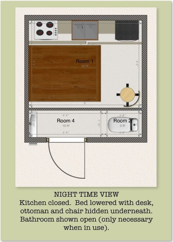 8 8 Tiny House Design By Mary Parris Tiny House Design Diy Remodel House Design