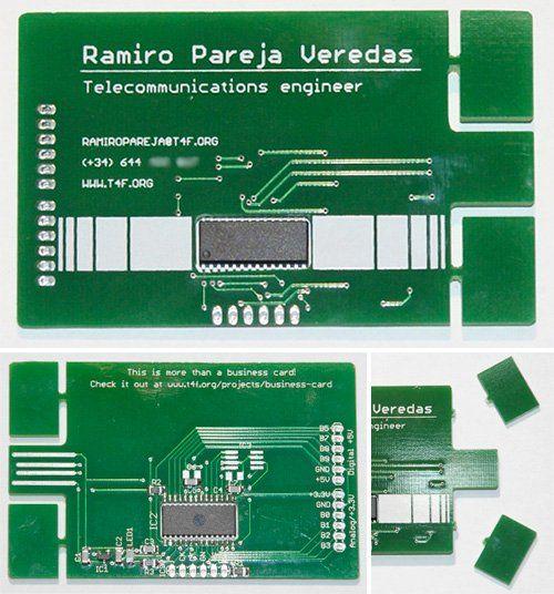 Printed circuit board business card slipperybrick cool stuff printed circuit board business card slipperybrick colourmoves