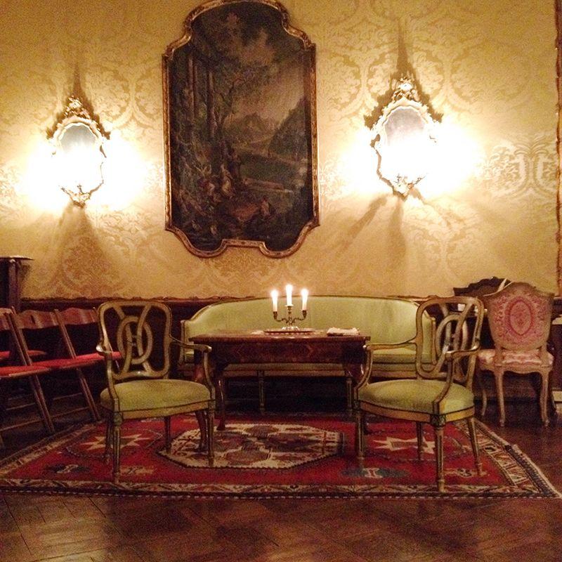 Opéra dans un lieu tenu secret à Venise