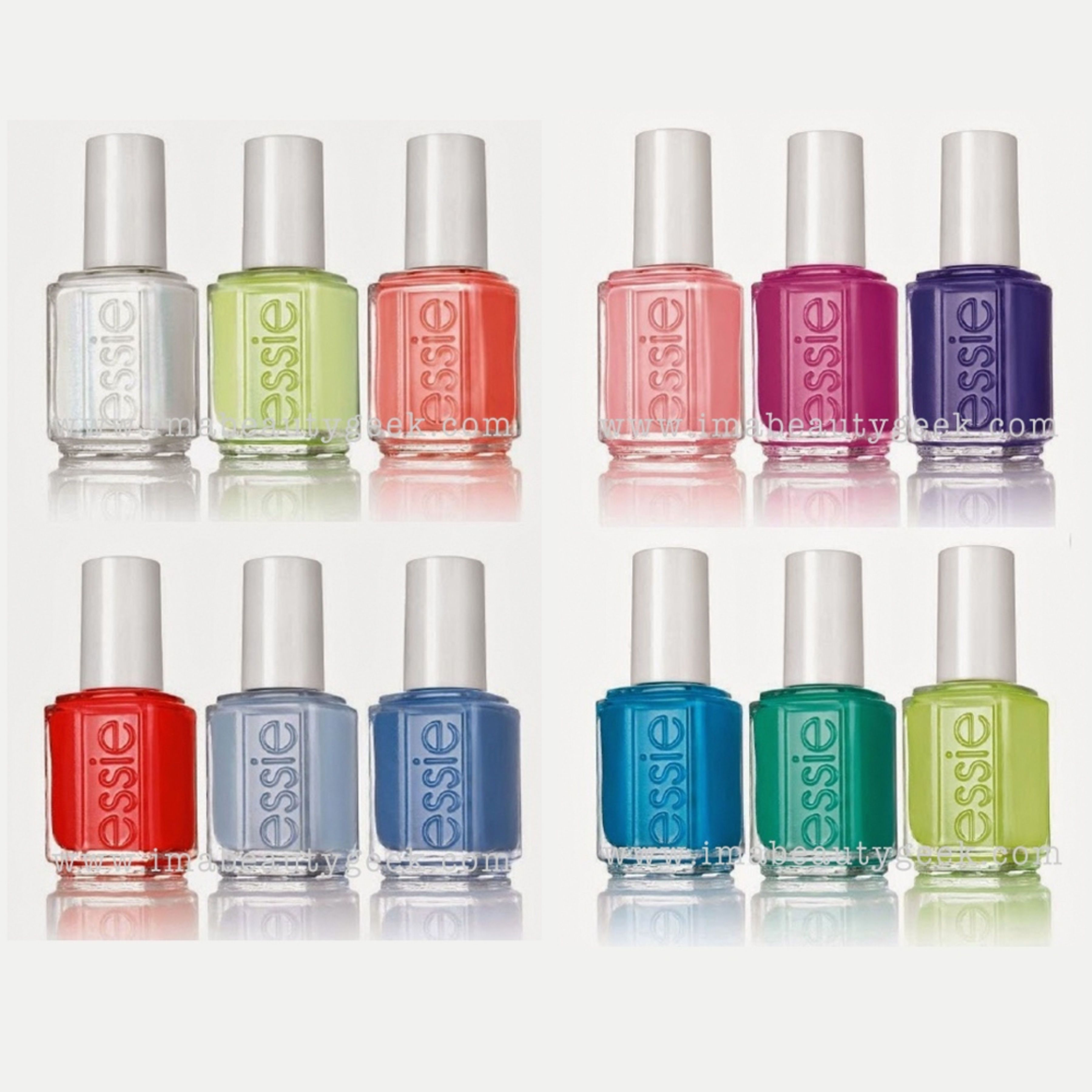 ESSIE NEONS 2015 AND ESSIE SUMMER 2015 COLLECTION SHOTS - YOUR FIRST ...